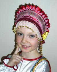 Как сделать повязку в русском стиле своими руками