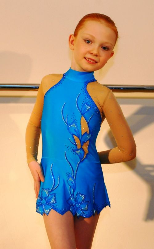 Купальник гимнастический для девочек своими руками