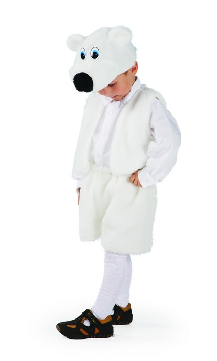 костюм белого медведя своими руками. фото